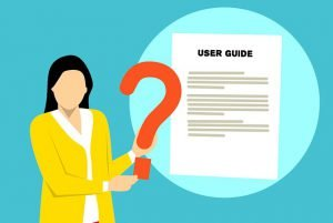Quick user guides as job aids