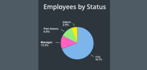 HR data analytics- pie chart