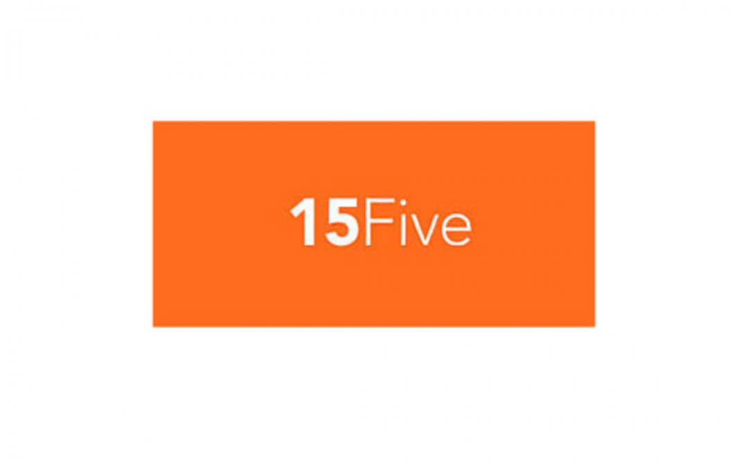 Logo for 15Five an HR system integration for our HR dashboard